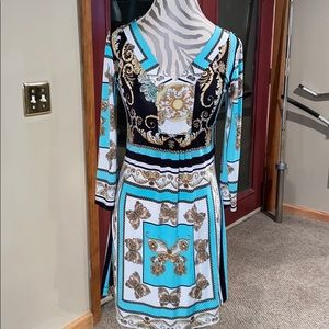 Minidress with Tiffany colors!